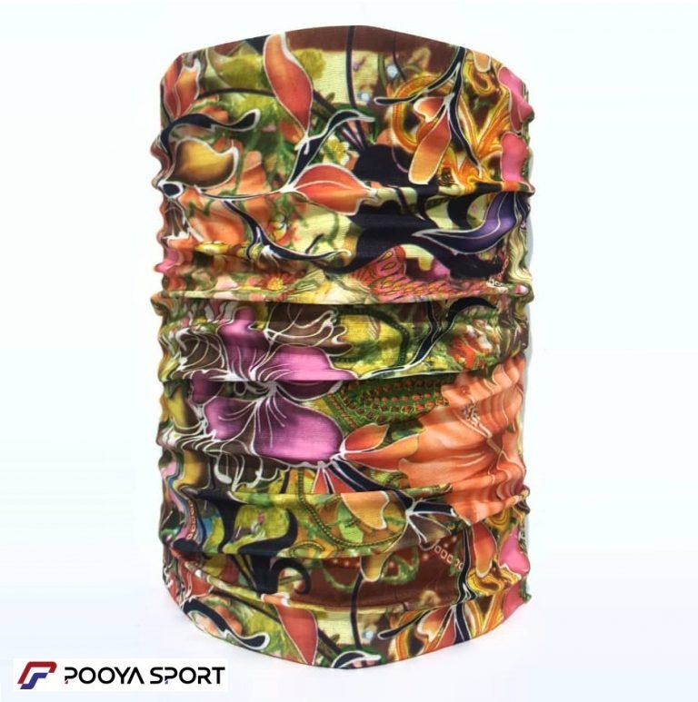 دستمال سرو گردن مدل اسکارف Scarf طرح گل