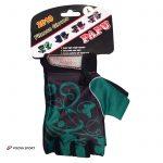 دستکش بدنسازی زنانه طرح پروانه (نیمه انگشتی)