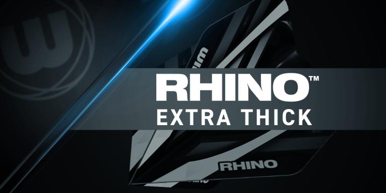 پر دارت سه تایی نقره ای- سبز winmau Rhino Extra Thick (اصل)