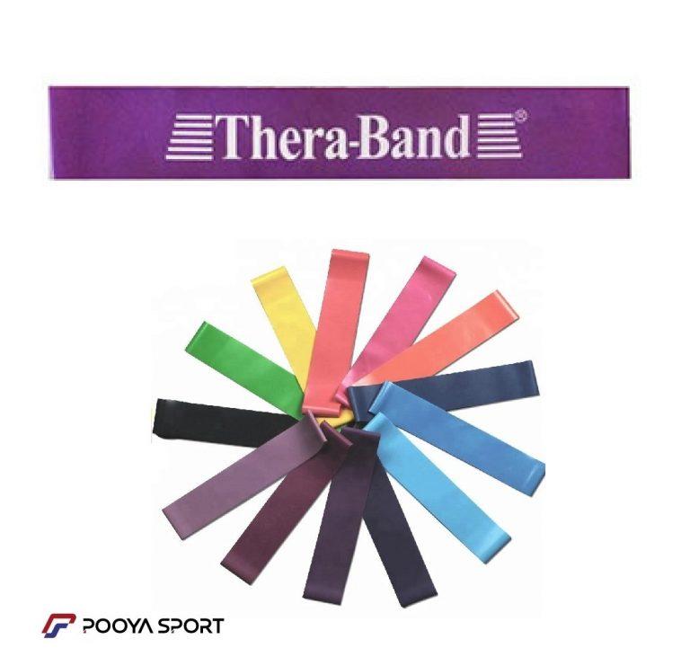 کش پیلاتس مینی لوپ بنفش ترابند Thera Band