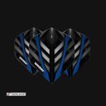 Mega Standard Black, Grey & Blue