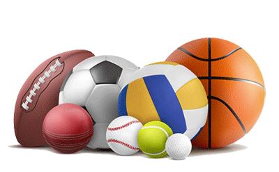 تمامی توپ های ورزشی