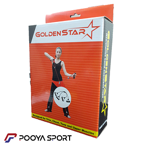 کش همراه بدنسازی حرفه ای Golden Star