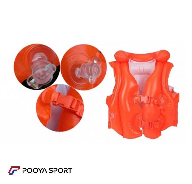 جلیقه شنای بادی اینتکس مدل 58671NP (مناسب باری 3 تا 6 سال) اصل