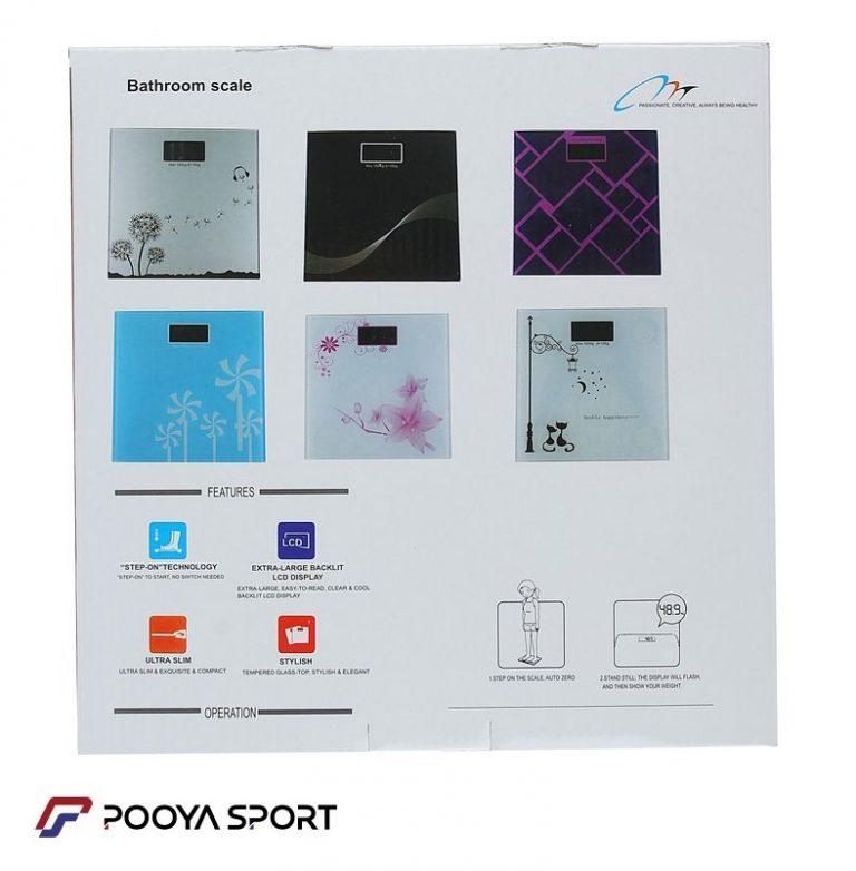 ترازو دیجیتال مدل بس روم اسکیل New Bathroom scale چهار طرح
