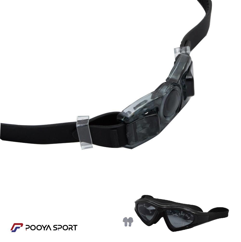 عینک شنا سیلیکون مدل 9121