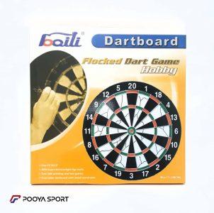 Boili dart board model Flocked Dart Game Hobby 15 inch