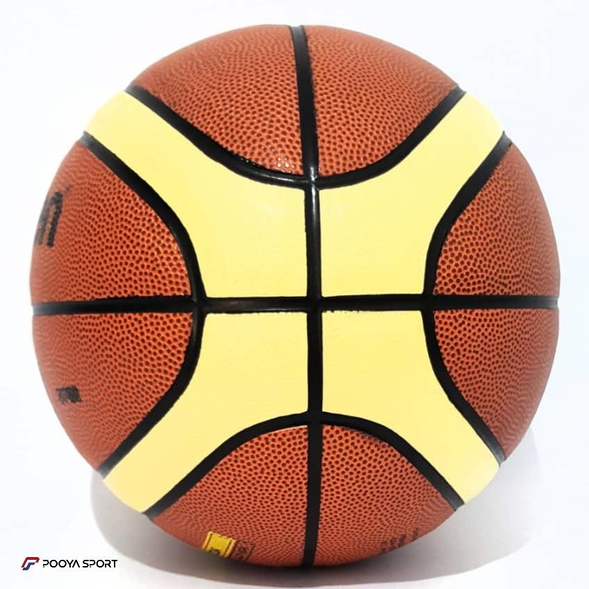 توپ بسکتبال مولتن مدل GL5X چرم ایرانی سایز 5