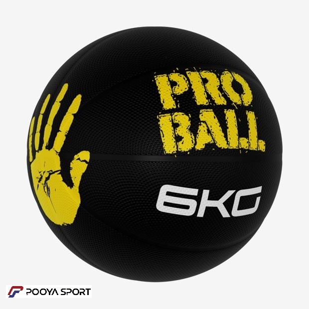 توپ مدیسین بال 6 کیلوگرم مدل پروبال Pro Ball جدید