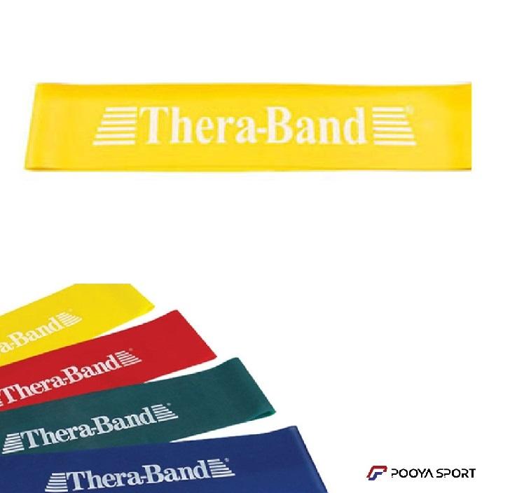 کش پیلاتس مینی لوپ زرد ترابند Thera-Band