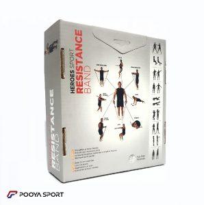کش بدنسازی همراه قوی هیرو تا وزن 100 کیلوگرم