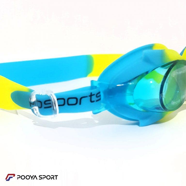 عینک شنا بچه گانه ژله ای رنگی Pro Sports مدل 01