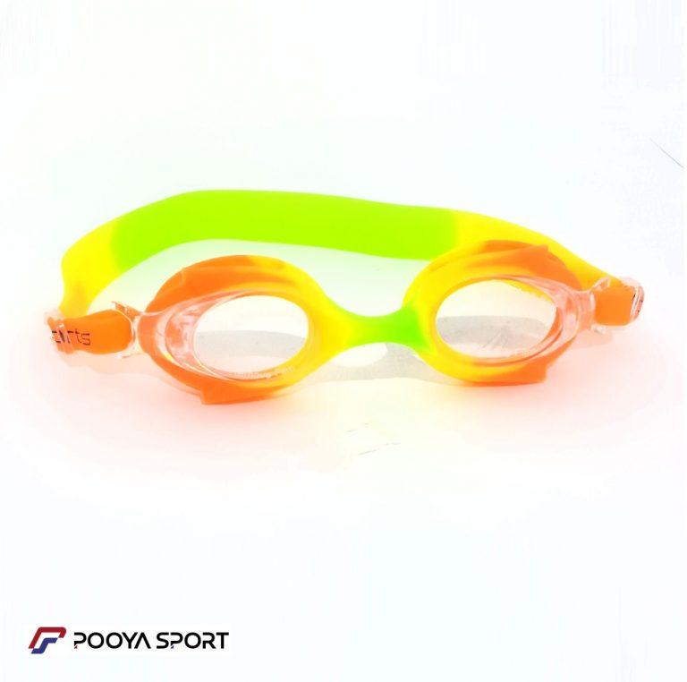 عینک شنا بچه گانه ژله ای رنگی مدل Pro Sports