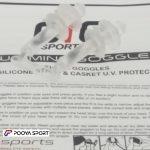 عینک شنا بچه گانه ژله ای Pro Sports