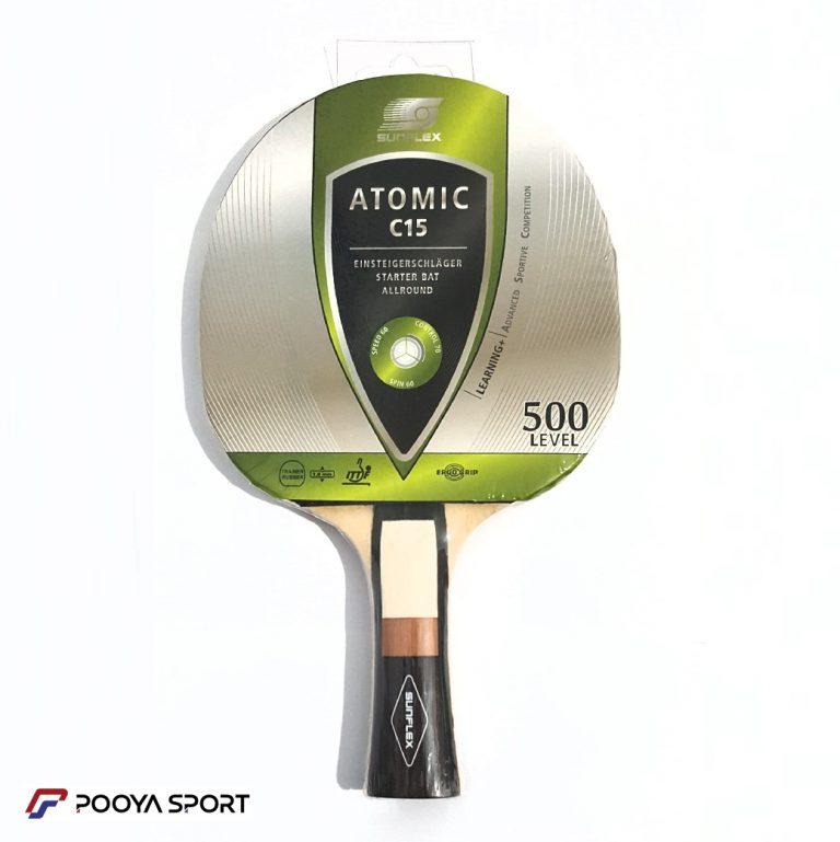 راکت پینگ پنگ سانفلکس مدل ATOMIC C15 LEVEL 500 اصل