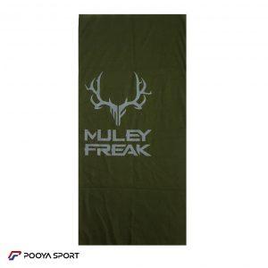 دستمال سرو گردن اسکارف Scarf ساده سبز ارتشی