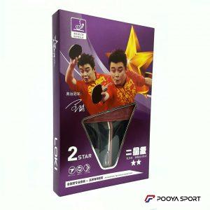 راکت پینگ پنگ لوکی مدل 2ستاره Loki 2star